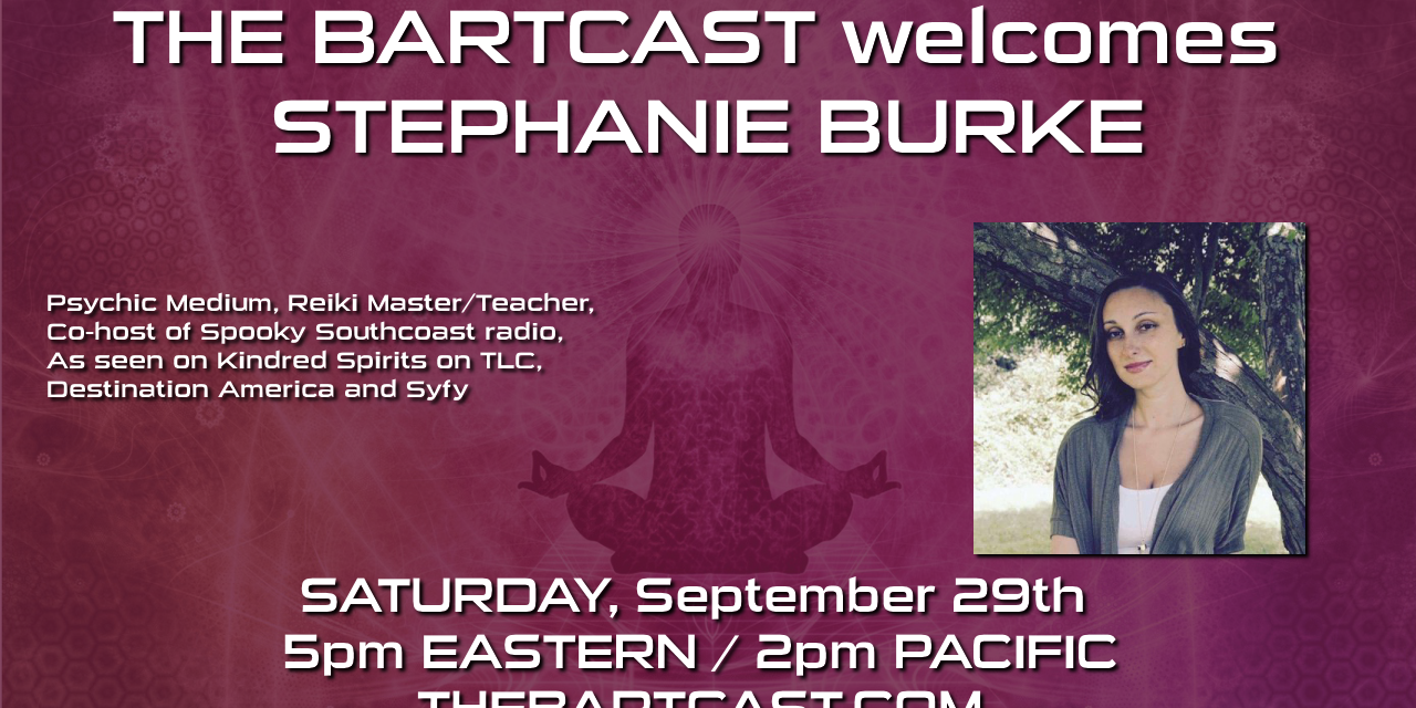 The BartCast Interviews Stephanie Burke